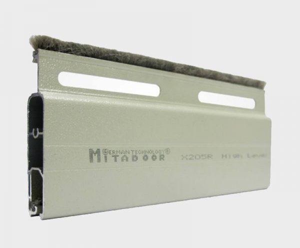 Cửa cuốn nhôm Mitadoor khe thoáng siêu êm X205R