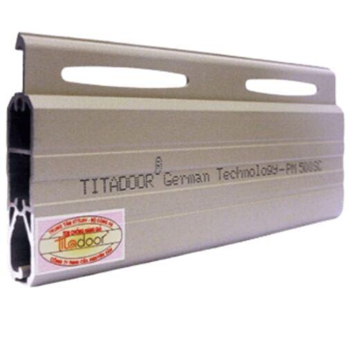 cửa cuốn nhôm Titadoor thế hệ mới PM-500SC
