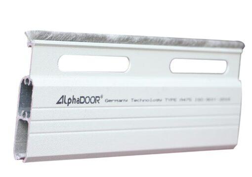 cửa cuốn nhôm khe thoáng alpha door A475