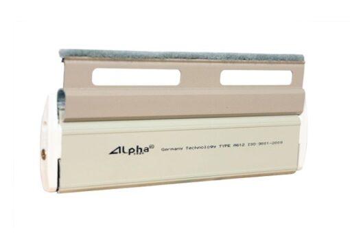 cửa cuốn nhôm khe thoáng alpha door a612