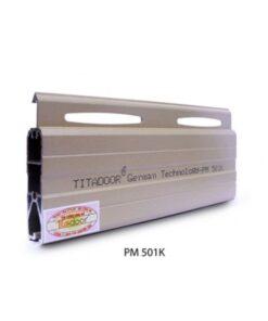 cửa cuốn nhôm titadoor super deluxe pm-501k