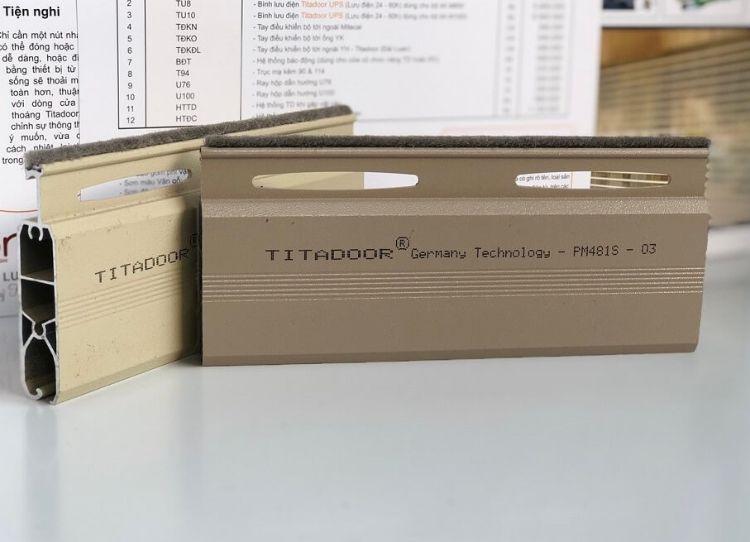 cửa cuốn nhôm titadoor thế hệ mới PM-481S